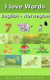 I love Words English - Norwegian