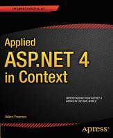 Applied ASP NET 4 in Context PDF