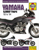 Yamaha XJ900F Fours Motorcycle Repair Manual PDF