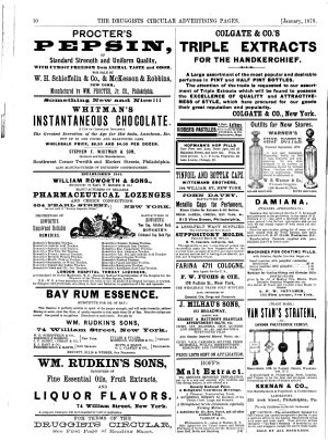 Druggists' Circular and Chemical Gazette