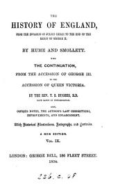 History of England, by Hume and Smollett; with a continuation by T.S. Hughes