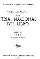 Gu  a cat  logo de la Feria Nacional del Libro PDF