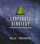 Corporate Strategy  A Resource Based Approach PDF