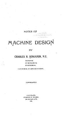 Notes on Machine Design PDF