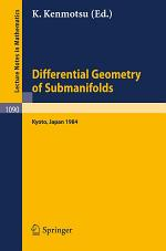 Differential Geometry of Submanifolds