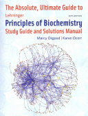 Absolute Ultimate Guide For Lehninger Principles Of Biochemistry  Per Chapter
