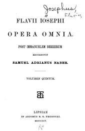 Opera omnia: Post immanuelem Bekkerum, recognivit Samuel Adrianus Naber, Τόμος 5