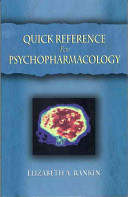 Quick Reference for Psychopharmacology Book
