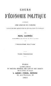 ptie. Économie publique et financière. t. 4