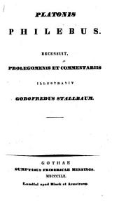 Opera omnia: Philebus. Vol. 9, Sect. 2