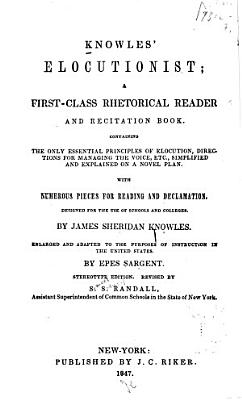 Knowles Elocutionist