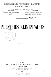 Industries alimentaires