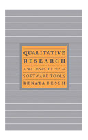 Qualitative Research: Analysis Types & Tools