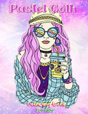 Pastel Goth Coloring Book For Kids