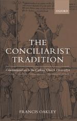 The Conciliarist Tradition