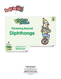 Diphthongs  Clowning Around Literacy Center PDF