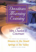Devotions for Morning and Evening With Mrs  Charles E  Cowman Book