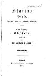 Werke: im Versmaß der Urschrift übersetzt, Band 1,Ausgabe 2