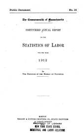 Report on the Statistics of Labor: Volume 43