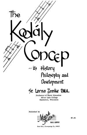The Kodály Concept