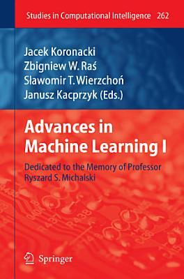 Advances in Machine Learning I PDF