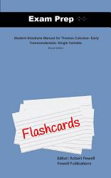 Exam Prep Flash Cards for Student Solutions Manual for     PDF