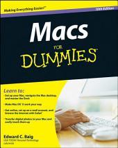 Macs For Dummies: Edition 10