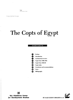 The Copts of Egypt PDF