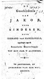De geschiedenis van Jakob, voor kinderen