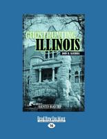 Ghosthunting Illinois  Large Print 16pt  PDF