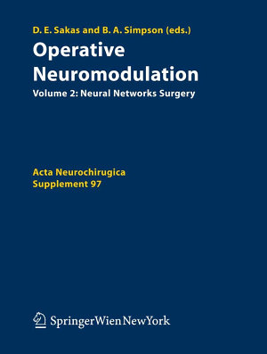 Operative Neuromodulation