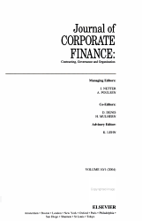 Journal of CORPORATE FINANCE PDF