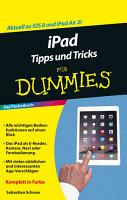 iPad Tipps und Tricks f  r Dummies PDF