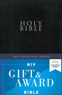 NIV  Gift and Award Bible  Leather Look  Black  Red Letter Edition  Comfort Print PDF