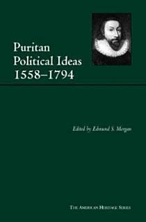 Puritan Political Ideas Book