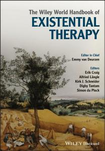The Wiley World Handbook of Existential Therapy Book
