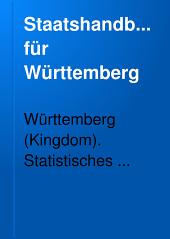 Staatshandbuch für Württemberg