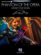Phantom of the Opera: Lindsey Sterling Medley: Violin with Original Audio Backing Tracks