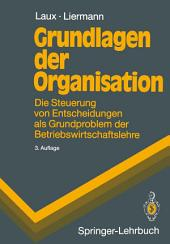Grundlagen der Organisation: Die Steuerung von Entscheidungen als Grundproblem der Betriebswirtschaftslehre, Ausgabe 3
