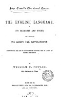 The English language  in its elements and forms PDF