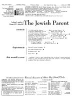 The Jewish parent PDF
