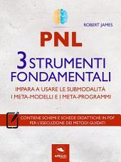 PNL. 3 strumenti fondamentali: Impara a usare le submodalità, i meta-modelli e i meta-programmi