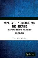 Mine Safety Science and Engineering PDF