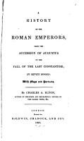A History of the Roman Emperors PDF