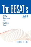 The Bbsat s Level Ii   Baby Boomers Soul Aptitude Test PDF