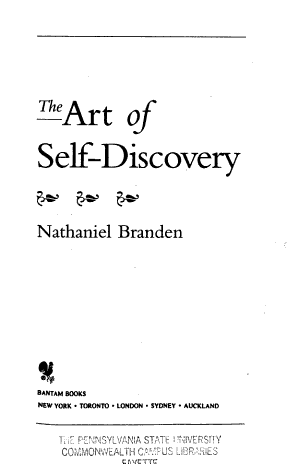 The Art of Self Discovery