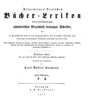 Allgemeines B  cher Lexikon PDF