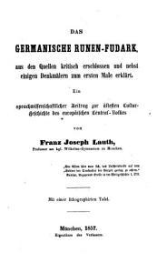 Das germanische Runen Fudark PDF