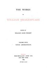 The Works of William Shakespeare: Titus Andronicus