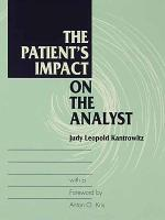 The Patient s Impact on the Analyst PDF